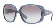 DKNY DY4079 Sunglasses Sunglasses - 350711 Blue Avio / Gray Gradient