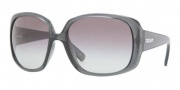 DKNY DY4079 Sunglasses Sunglasses - 350811 Transparent Gray / Gray Gradient