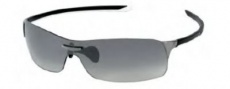 Tag Heuer Squadra 5508 Sunglasses Sunglasses - 110 Black-White / Dark Lug / Gradient Grey Lenses