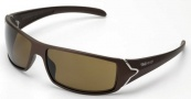 Tag Heuer Racer 9205 Sunglasses Sunglasses - 202 Brown Temples / Sand Polished Lug / Brown Precision Lenses