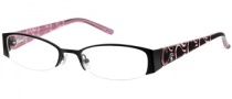 Candies C Alba Eyeglasses Eyeglasses - BLK: Black