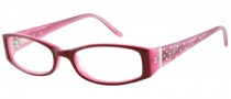 Candies C Billie Eyeglasses Eyeglasses - BU: Burgundy / Purple Pink