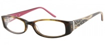 Candies C Billie Eyeglasses Eyeglasses - TO: Brown Horn / Pink