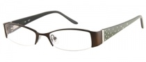 Candies C Blair Eyeglasses Eyeglasses - BRN: Satin Brown