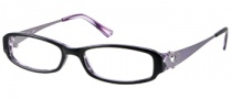 Candies C Chelsea Eyeglasses Eyeglasses - BLK: Black / Purple