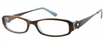 Candies C Chelsea Eyeglasses Eyeglasses - BRNHRN: Brown Horn