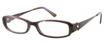 Candies C Chelsea Eyeglasses Eyeglasses - PURHRN: Purple Horn