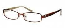 Candies C Claudia Eyeglasses Eyeglasses - BRN: Brown