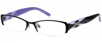 Candies C Ella Eyeglasses Eyeglasses - BLK: Black