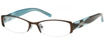 Candies C Ella Eyeglasses Eyeglasses - BRN: Brown