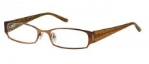 Candies C Emma Eyeglasses Eyeglasses - BRN: Brown