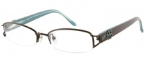 Candies C Fancy Eyeglasses Eyeglasses - BRN: Brown