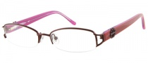 Candies C Fancy Eyeglasses Eyeglasses - BU: Burgundy