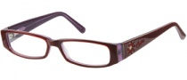 Candies C Fiona Eyeglasses Eyeglasses - BUPUR: Burgundy Purple