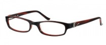 Candies C Fran Eyeglasses Eyeglasses - BU: Burgundy