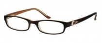 Candies C Fran Eyeglasses Eyeglasses - DKBRN: Dark Brown