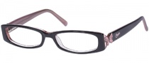 Candies C Hazel Eyeglasses Eyeglasses - BLKPK: Black Pink