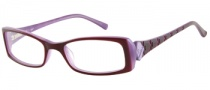 Candies C Henna Eyeglasses Eyeglasses - PL: Plum / Milky Purple
