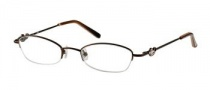 Candies C Lalita Eyeglasses Eyeglasses - BRN: Brown