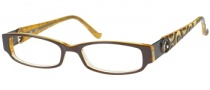 Candies C Laura Eyeglasses Eyeglasses - BRN: Brown
