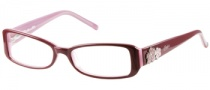 Candies C Lilac Eyeglasses Eyeglasses - BUPK: Burgundy / Pink