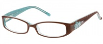 Candies C Lotus Eyeglasses Eyeglasses - BRNBL: Brown Blue
