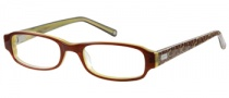 Candies C Nicolete Eyeglasses Eyeglasses - BRN: Brown / Crystal