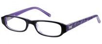 Candies C Noelle Eyeglasses Eyeglasses - BLK: Black / Crystal