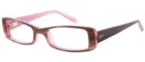 Candies C Pennie Eyeglasses Eyeglasses - GRY: Grey Horn / Pink