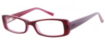 Candies C Pennie Eyeglasses Eyeglasses - PL: Plum Over Pink