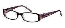 Candies C Rosana Eyeglasses Eyeglasses - BLK/ CRY: Black Crystal