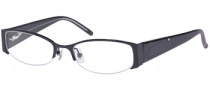 Candies C Vivienne Eyeglasses Eyeglasses - BLK: Black Crystal