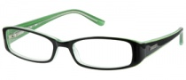 Candies C Zahara Eyeglasses Eyeglasses - BLKGRN: Black Green