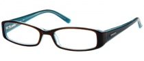 Candies C Zahara Eyeglasses Eyeglasses - BRNBL: Brown Blue