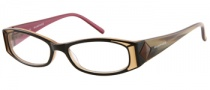 Rampage R 147 Eyeglasses Eyeglasses - BRN: Brown Over Beige