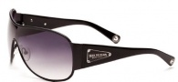 True Religion Ashton Sunglasses Sunglasses - Black W/ Grey Gradient Lens