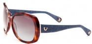 True Religion Ava Sunglasses Sunglasses - Tortoise W/ Grey Gradient Lens