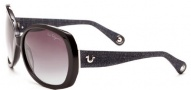 True Religion Ava Sunglasses Sunglasses - Black W/ Grey Gradient Lens