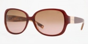 Anne Klein AK3168 Sunglasses Sunglasses - 276/76 Burgundy Amber Horn / Brown Rose Gradient