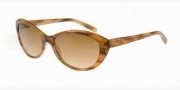 Anne Klein AK3175 Sunglasses Sunglasses - 325/78 Brown Horne / Bronze Gradient
