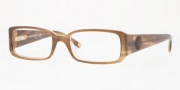 Anne Klein AK8093 Eyeglasses Eyeglasses - 232 Light Brown Horn