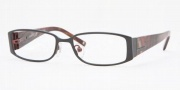 Anne Klein AK9104 Eyeglasses Eyeglasses - 545S Satin Charcoal Red