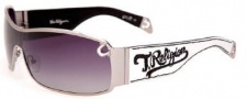 True Religion Dylan Sunglasses Sunglasses - White Gunmetal