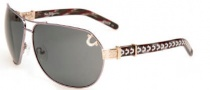 True Religion Dakota Sunglasses Sunglasses - Gunmetal Satin Grey