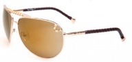 True Religion Jessie Sunglasses Sunglasses - Gold