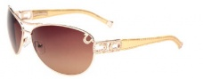 True Religion Sierra Sunglasses Sunglasses - Gold 