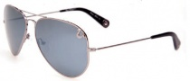 True Religion Jeff Large/ Small Sunglasses Sunglasses - Gunmetal