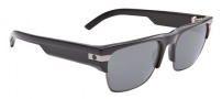 Spy Optic Mayson Sunglasses Sunglasses - Shiny Black / Grey Lens