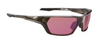 Spy Optic Quanta Sunglasses Sunglasses - Translucent Black Rose w/ Blue Mirror