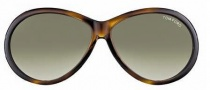 Tom Ford FT0202 Geraldine Sunglasses Sunglasses - 52P